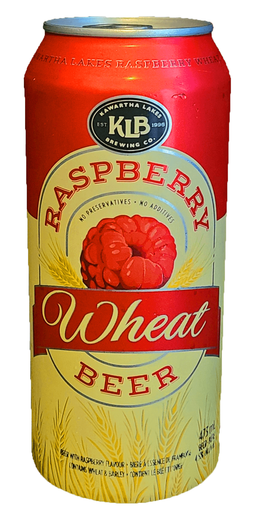 photo of KLB Raspberry Wheat beer