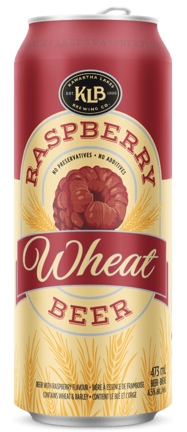 photo of NEW ~ KLB Raspberry Wheat beer