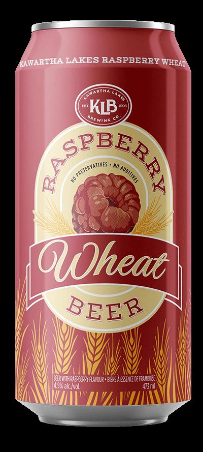 photo of KLB Raspberry Wheat beer