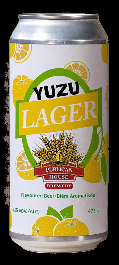 photo of Yuzu Lager beer